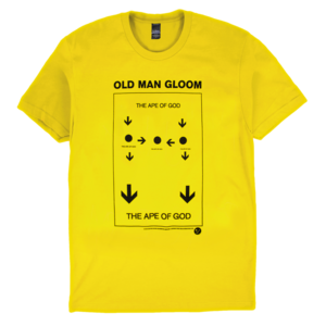 Old Man Gloom: Ape of God (Yellow) T-Shirt thumb