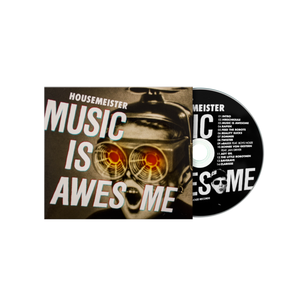 Housemeister 'Music Is Awesome' CD | Boysnoize Records | Online