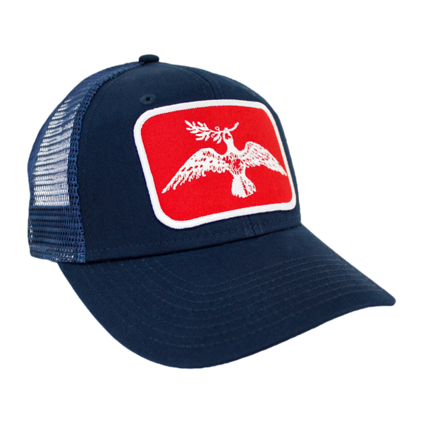 Joe Pug Logo Mesh Hat (Navy)  406c415a5de
