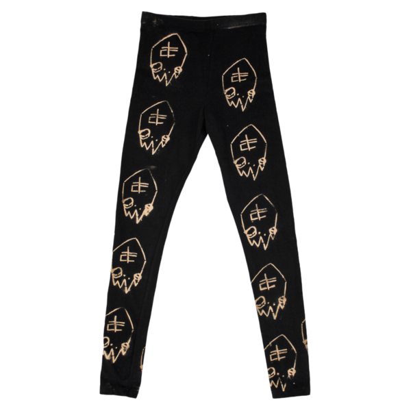 Tc logobleach leggings 1