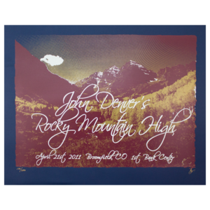 Rocky Mountain High / Earth Day Poster thumb