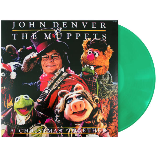john denver and the muppets a christmas together vinyl lp