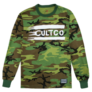 Cultco: Camo Long Sleeve T-Shirt  thumb