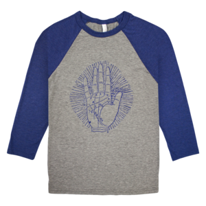 Palmistry Baseball Shirt thumb