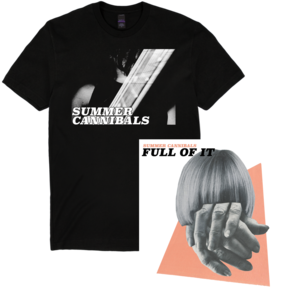 Summer Cannibals: Full Of It T-Shirt + CD/LP/or Cassette Bundle  thumb
