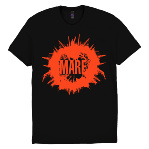 Mare: Rounded Skyline Black/Red T-Shirt thumb