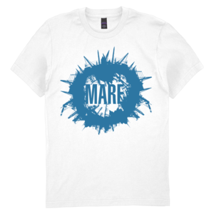Mare: Rounded Skyline White/Blue T-Shirt thumb