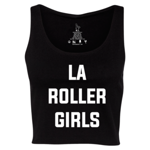 LA Roller Girls Cropped Tank thumb