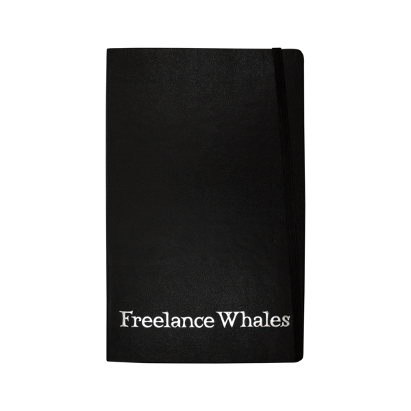 Freelance Whales Moleskin Notebook Mom Pop Music