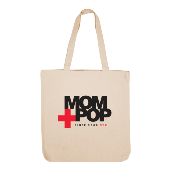 Mom logo since2008 tote 1