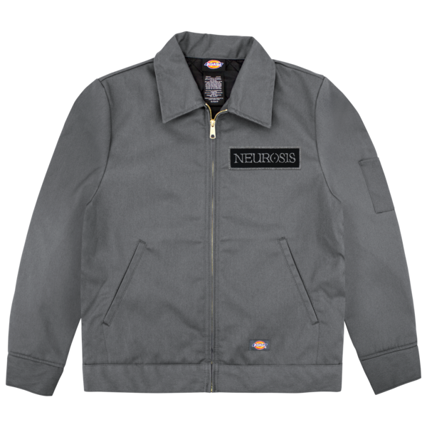 Neurosis dickies patch jacket neurot recordings for Mechanic shirts custom name patch
