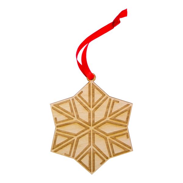 Jd snowflake ornament 1