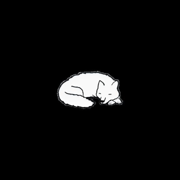 Jaw sleepingwolf pin 1