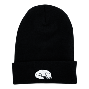 Sleeping Wolf Beanie thumb
