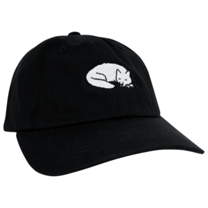 Sleeping Wolf Dad Hat thumb