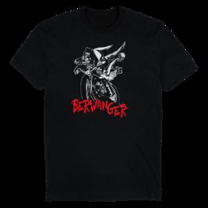 Moto-Wolf (Black) T-Shirt thumb