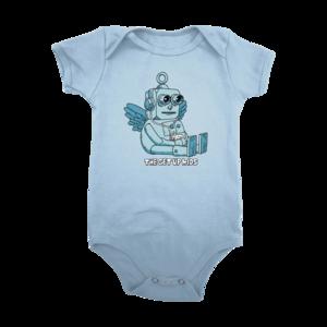 Baby Robot Baby Bodysuit thumb