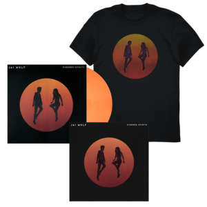 Jai Wolf - Kindred Spirits Digital EP, Exlusive Art Print (First 100 Autographed), Orb Tee + Orange Vinyl thumb