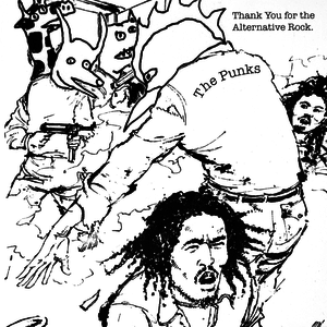 The Punks - Thank You For The Alternative Rock CD thumb