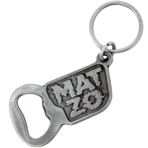 Glitch Logo Bottle Opener Keychain thumb