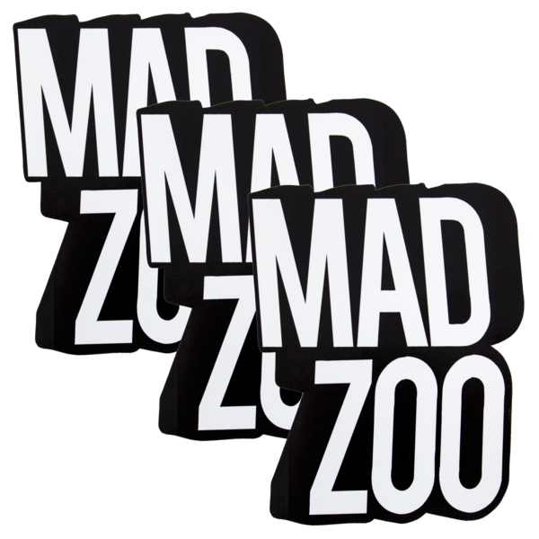 Mz madzoo sticker 3pack