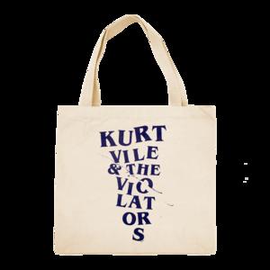 Kurt Vile and the Violators: Broken Font Tote Bag thumb
