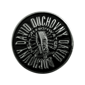David Duchovny: Hell or Highwater Enamel Pin thumb
