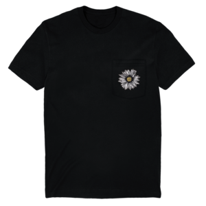 Embroidered Daisy Short Sleeve Tee  thumb