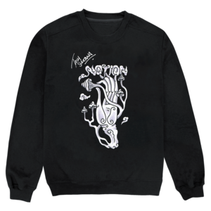 Notion Black Crewneck Sweatshirt thumb