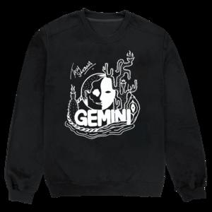 Gemini Black Sweatshirt thumb