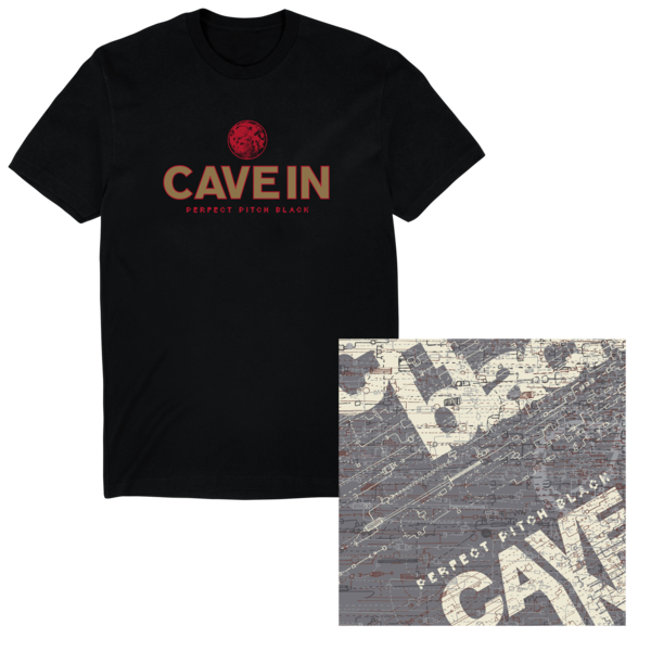 Cave in perfect pitch black digital download t shirt for Perfect black t shirt