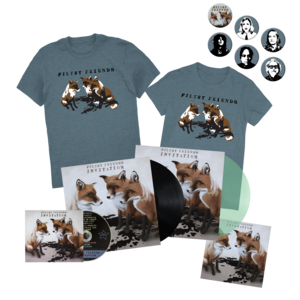Filthy Friends - Invitation Album +  T-Shirt + Pin Pack Bundle thumb