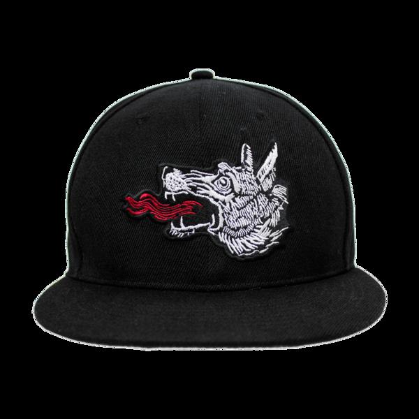 Wolf Snapback Hat  1a5acbd4f8b