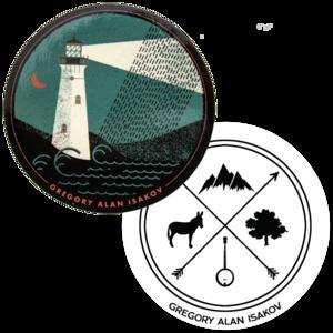 Lighthouse + Banjo Sticker 2 Pack thumb