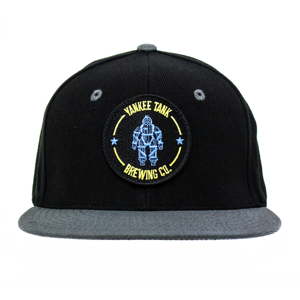 Black/Grey Hat with Logo Patch thumb