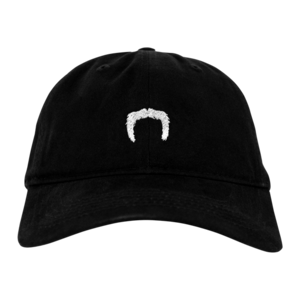 Mustache Dad Hat (Black)  thumb