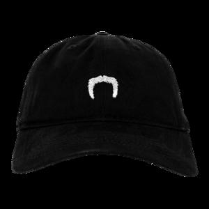 Mustache Dad Hat (Black)  thumb
