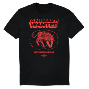 Animals Wanted - North American Tour Tee thumb