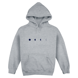 Moon Phase Pullover Hoodie thumb