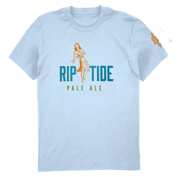 Riptide Pale Ale Tee (Baby Blue) thumb