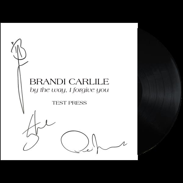Hallelujah Live At Kcrw Com Brandi Carlile: By The Way, I Forgive You Vinyl Test Pressing