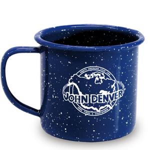 Globe Enamel Mug thumb