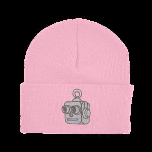 Robot Beanie (Pink) thumb