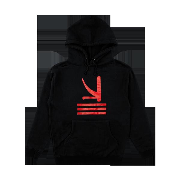 Red K Logo Hoodie | KSHMR | Online Store, Apparel