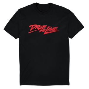Drop the Lime: Red Logo Tee (Black) thumb