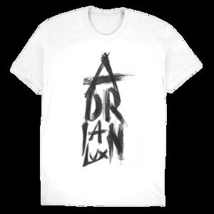 Adrian Lux: Brush Slim Tee (White) thumb