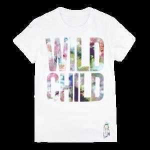 Adrian Lux: Wild Child Ladies Tee (White) thumb