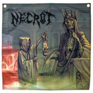 Necrot: Blood Offerings Flag thumb