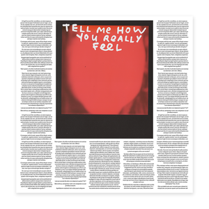 Tell Me How You Really Feel Limited Edition Print thumb