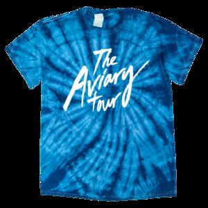 Aviary Tie Dye Tour Tee (Blue) thumb